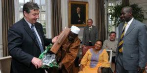 Le récit du voyage à Brive, par M. Seydou Tangara, président.