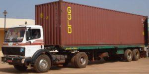 2011 - Livraison d'un conteneur à Sikasso