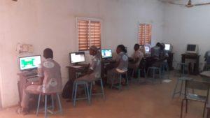 Livraison matériel pour le Lycée Blaise Pascal de Sikasso